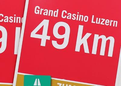 Grand Casino Luzern — Kampagne Neukunden