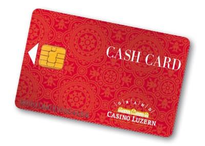 Grand Casino Luzern — Einführung Cash Card