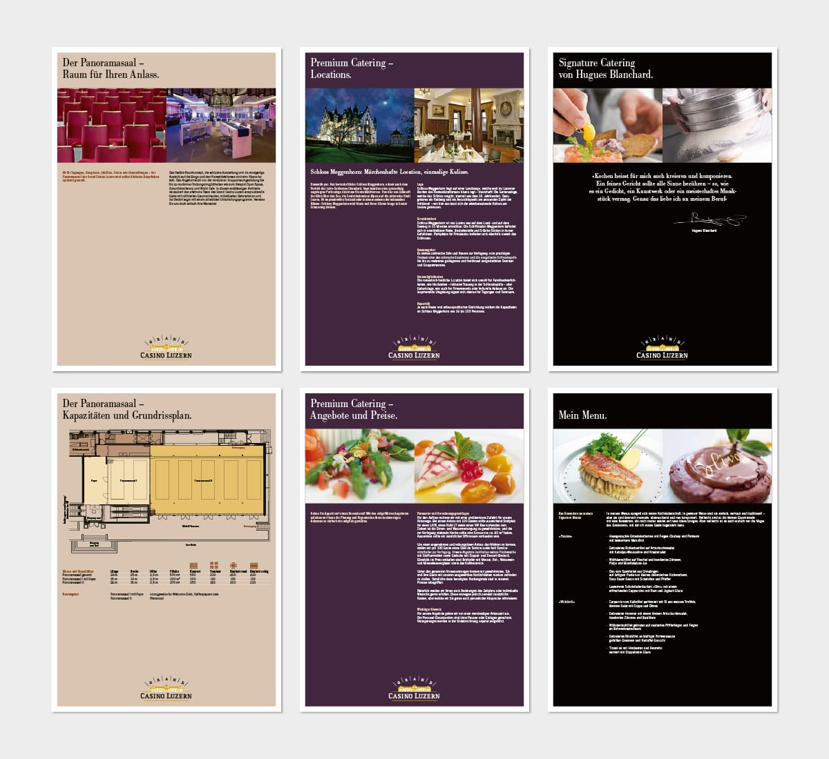 Factsheets Cateringangebot Grand Casino Luzern Gastro