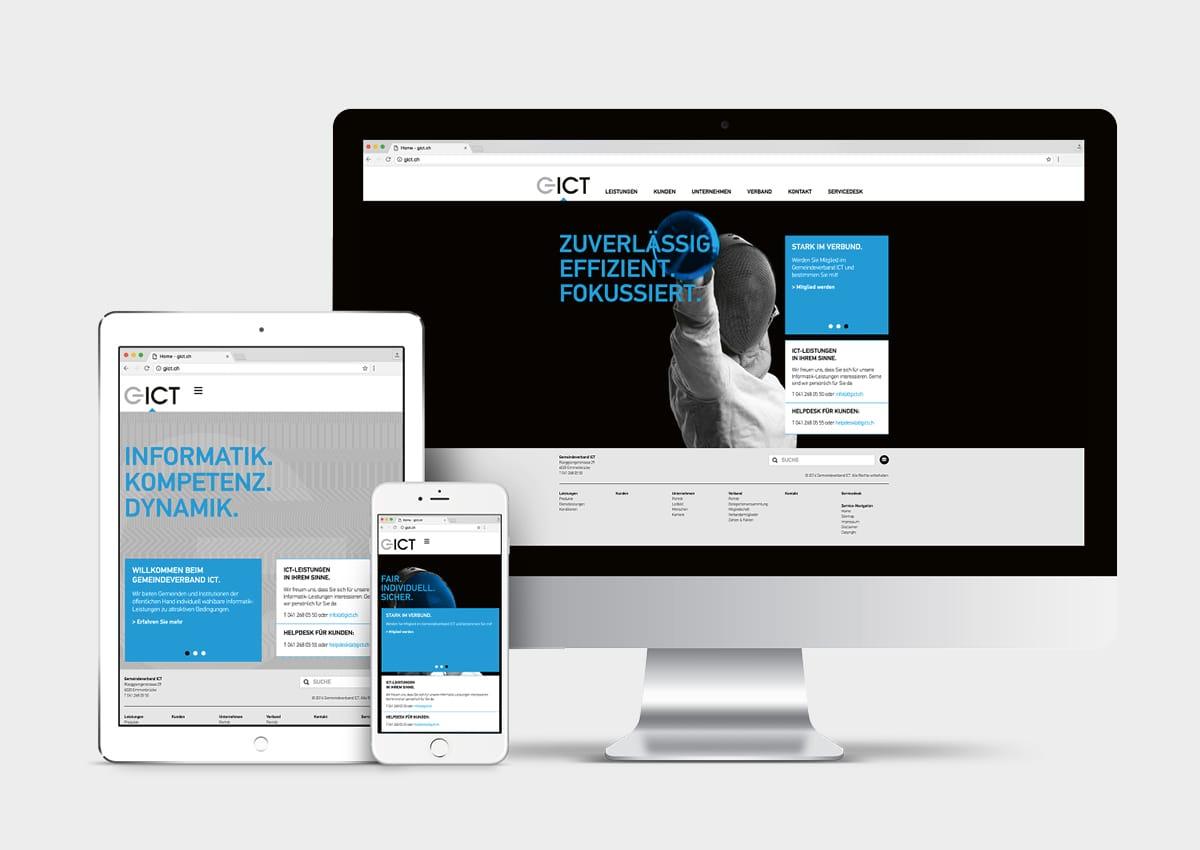 GICT Responsive-Website