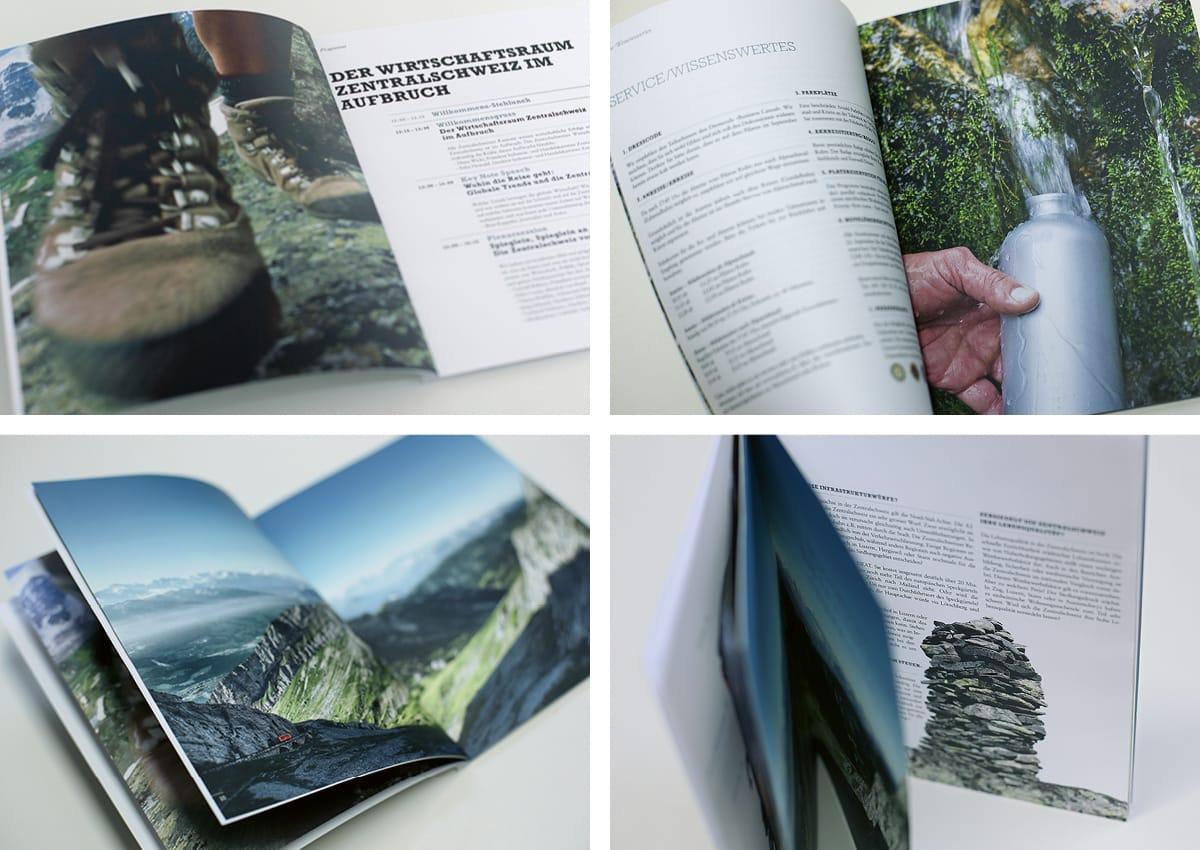 IHZ Programmheft Wirtschaftsforum Storytelling in Bildern