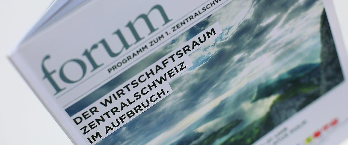 IHZ Programmheft Wirtschaftsforum Titelseite