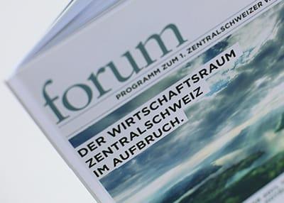 IHZ — Bildkonzept Zentralschweizer Wirtschaftsforum