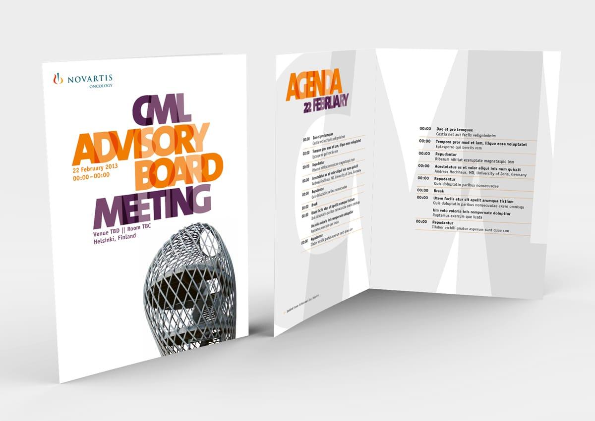 Novartis Oncology CML ABM Flyer