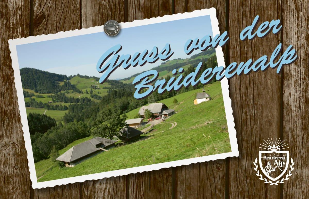 Visitenkarte Brüderenalp