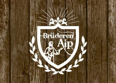 Brüderenalp — Logo und Flyer