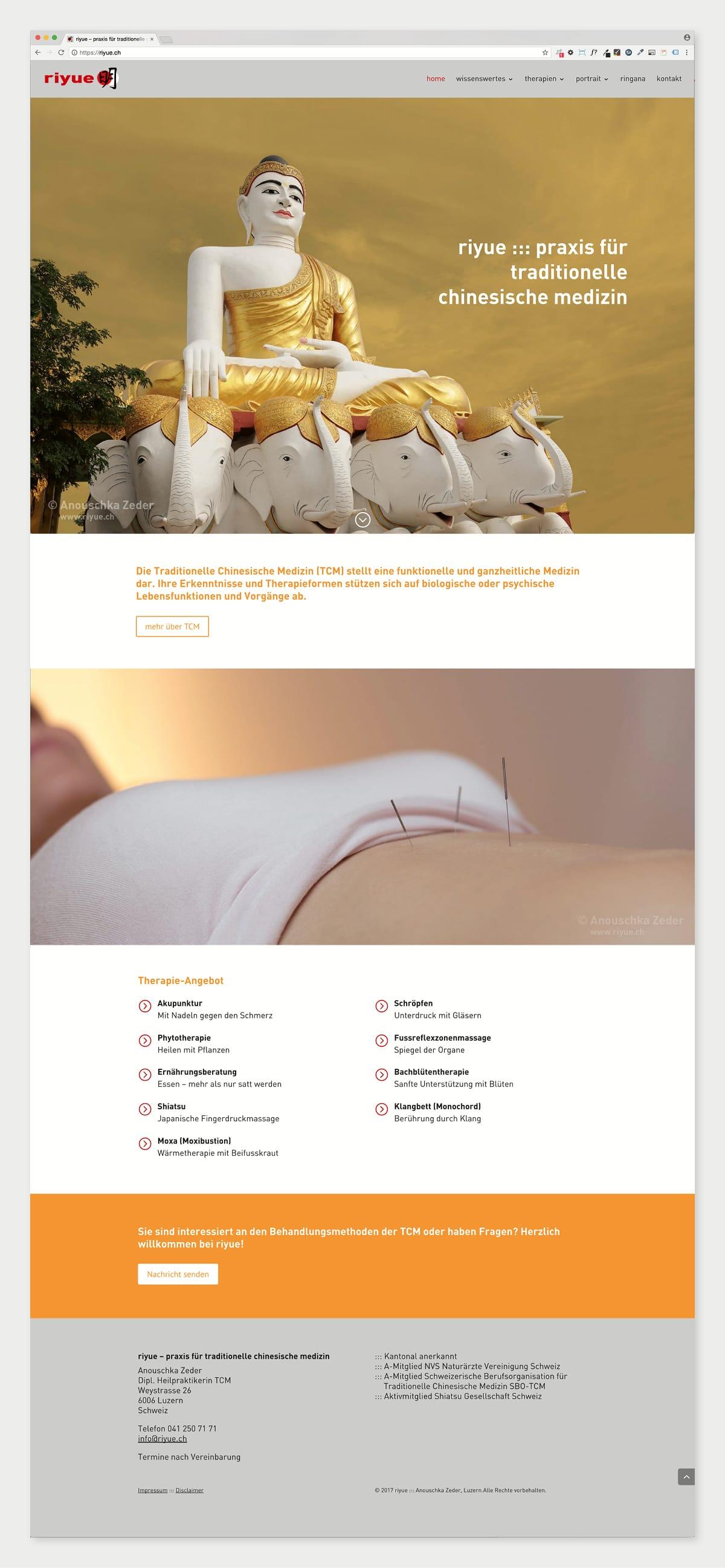 riyue Website