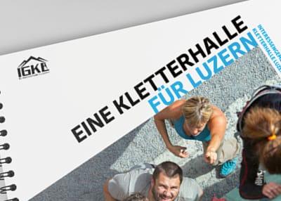 IGKL — Dokumentation Kletterhalle Luzern