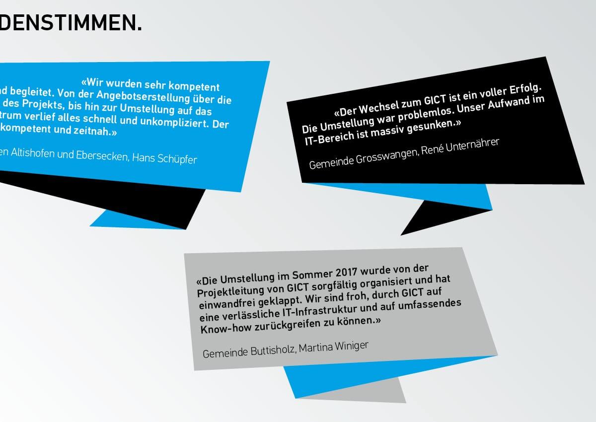 GICT Geschäftsberichte 2017 Details