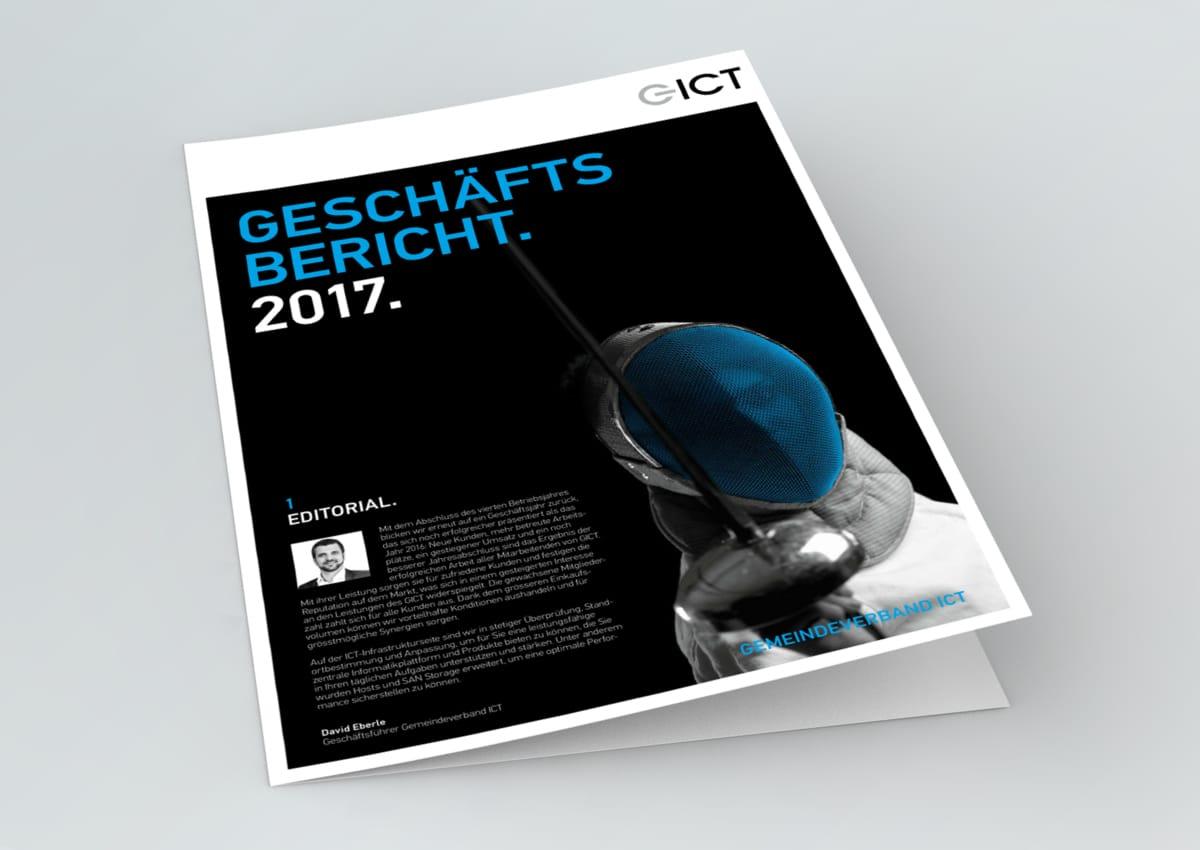 GICT Geschäftsbericht Frontseite 2017