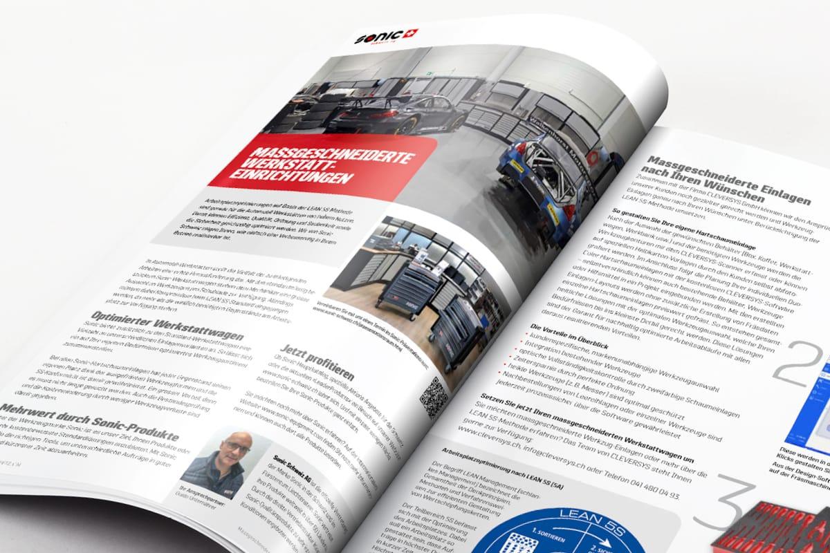 Sonic Schweiz Katalog Global Bestsellers Detailaufnahme