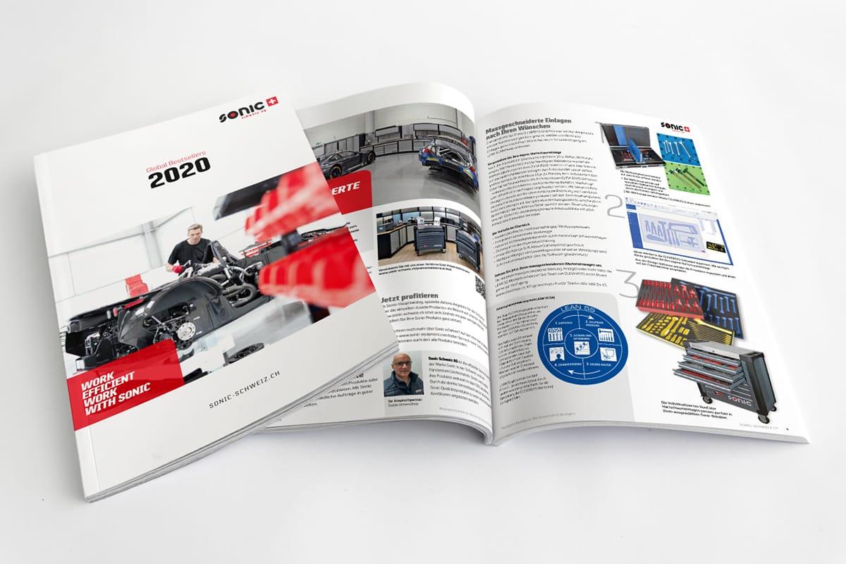 Sonic Schweiz Katalog Global Bestsellers