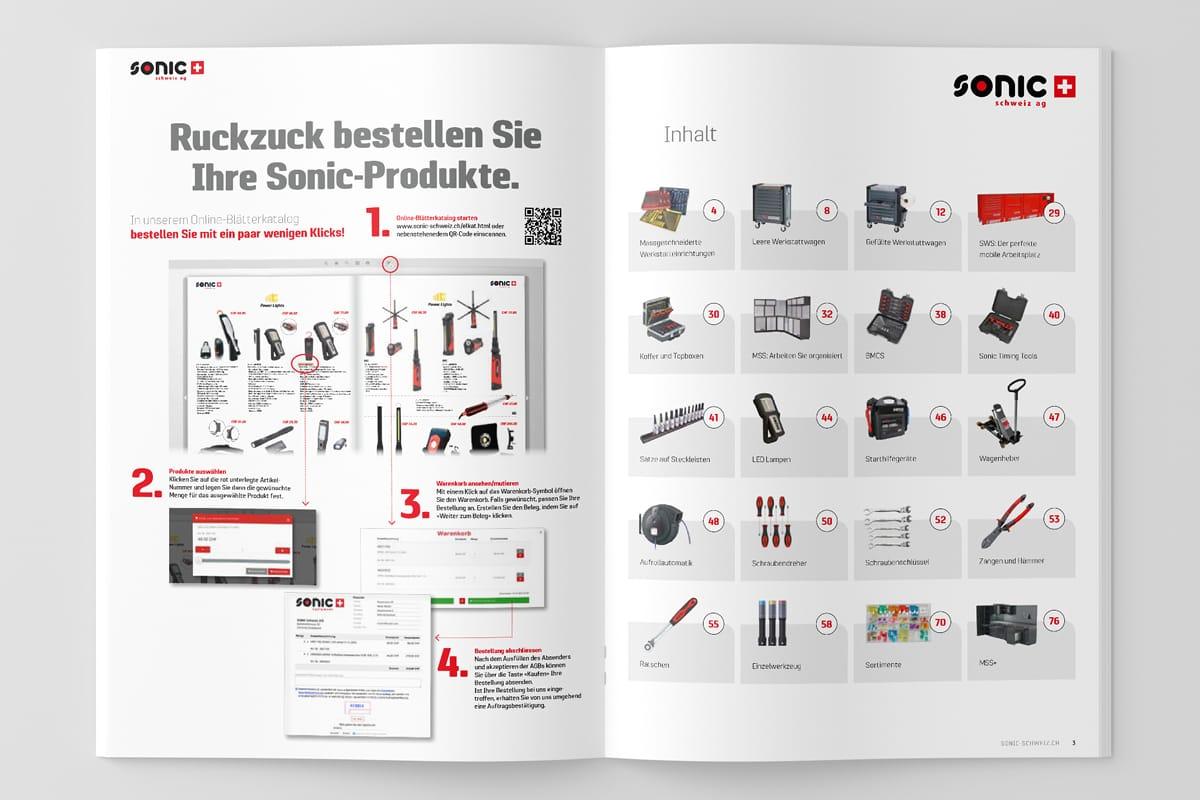 Sonic Schweiz Katalog Global Bestsellers Seiten 2–3