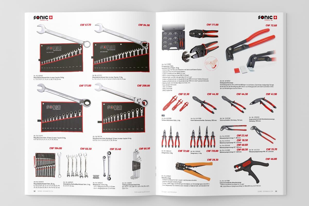 Sonic Schweiz Katalog Global Bestsellers Seiten 52–53